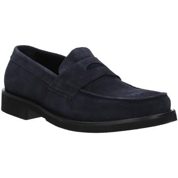 Čevlji  Moški Mokasini Rogers AZ004 Modra