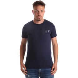 Oblačila Moški Majice s kratkimi rokavi Navigare NV31081 Modra