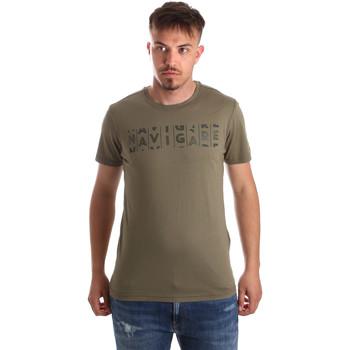 Oblačila Moški Majice s kratkimi rokavi Navigare NV31081 Zelena