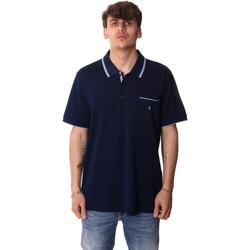 Oblačila Moški Polo majice kratki rokavi Navigare NV72045AD Modra