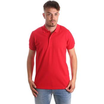 Oblačila Moški Polo majice kratki rokavi Navigare NV82001 Rdeča