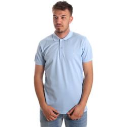 Oblačila Moški Polo majice kratki rokavi Navigare NV82001AD Modra