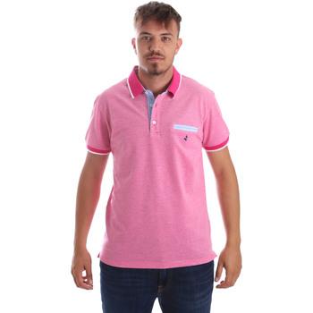 Oblačila Moški Polo majice kratki rokavi Navigare NV82092 Roza