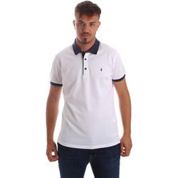 Oblačila Moški Polo majice kratki rokavi Navigare NV82097 Biely