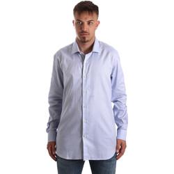 Oblačila Moški Srajce z dolgimi rokavi Navigare NV90005 FR Modra