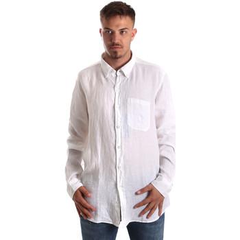 Oblačila Moški Srajce z dolgimi rokavi Navigare NV92067 BD Biely