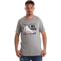 Oblačila Moški Majice s kratkimi rokavi Converse 10017575-A01 Siva