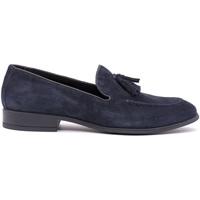 Čevlji  Moški Mokasini Soldini 20802-A-V89 Modra