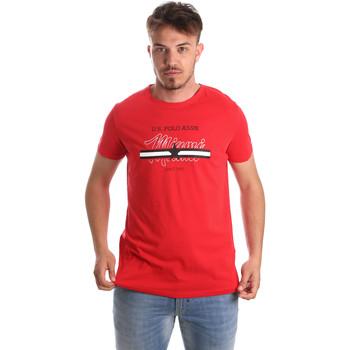 Oblačila Moški Majice s kratkimi rokavi U.S Polo Assn. 51520 51655 Rdeča