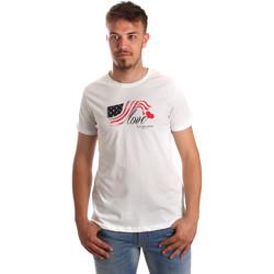 Oblačila Moški Majice s kratkimi rokavi U.S Polo Assn. 51520 51655 Biely