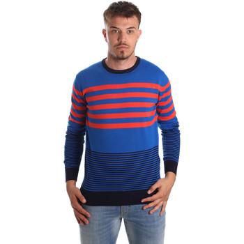 Oblačila Moški Puloverji U.S Polo Assn. 51727 51438 Modra