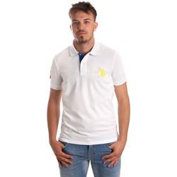 Oblačila Moški Polo majice kratki rokavi U.S Polo Assn. 50336 51267 Biely