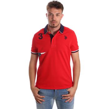Oblačila Moški Polo majice kratki rokavi U.S Polo Assn. 41029 51252 Rdeča