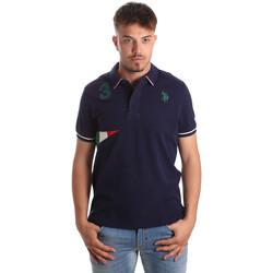 Oblačila Moški Polo majice kratki rokavi U.S Polo Assn. 41029 51252 Modra