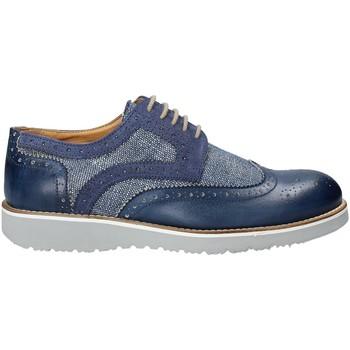 Čevlji  Moški Čevlji Derby Exton 5105 Modra