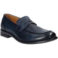 Čevlji  Moški Mokasini Exton 3106 Modra