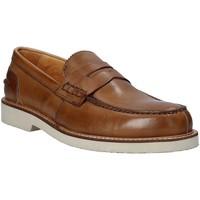 Čevlji  Moški Mokasini Exton 9102 Rjav