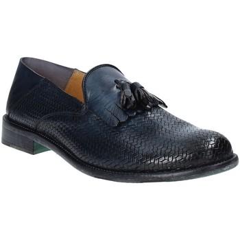 Čevlji  Moški Mokasini Exton 3105 Modra