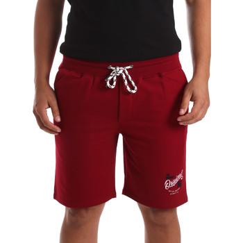 Oblačila Moški Kratke hlače & Bermuda Key Up 2F26I 0001 Rdeča