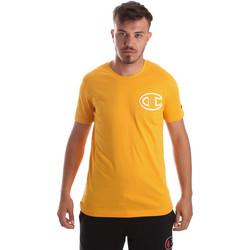 Oblačila Moški Majice s kratkimi rokavi Champion 213251 Rumena