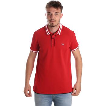 Oblačila Moški Polo majice kratki rokavi NeroGiardini P972210U Rdeča