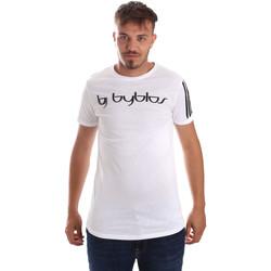 Oblačila Moški Majice s kratkimi rokavi Byblos Blu 2MT0016 TE0046 Biely