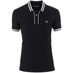 Oblačila Moški Polo majice kratki rokavi NeroGiardini P972210U Modra