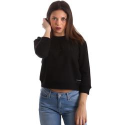 Oblačila Ženske Puloverji Calvin Klein Jeans J20J210319 Črna