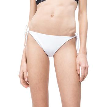 Oblačila Ženske Kopalke ločene Calvin Klein Jeans KW0KW00647 Biely