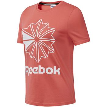 Oblačila Ženske Majice s kratkimi rokavi Reebok Sport DT7223 Roza