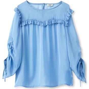 Oblačila Ženske Topi & Bluze Liu Jo W19292T5339 Modra