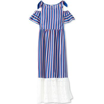 Oblačila Ženske Dolge obleke Liu Jo F19228T2311 Modra