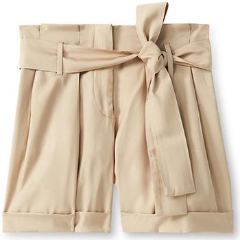 Oblačila Ženske Kratke hlače & Bermuda Liu Jo F19231T2311 Bež