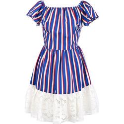 Oblačila Ženske Kratke obleke Liu Jo F19384T2311 Modra