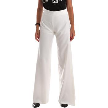 Oblačila Ženske Lahkotne hlače & Harem hlače Fracomina FR19SP637 Biely