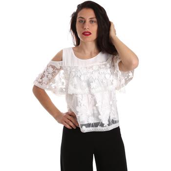 Oblačila Ženske Topi & Bluze Fracomina FR19SP605 Biely