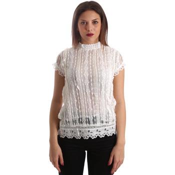 Oblačila Ženske Topi & Bluze Fracomina FR19SP521 Biely
