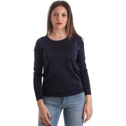 Oblačila Ženske Puloverji Fracomina FR19SP8009 Modra