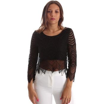 Oblačila Ženske Topi & Bluze Fracomina FR19SP099 Črna