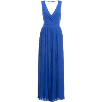 Oblačila Ženske Dolge obleke Fracomina FR19SM673 Modra
