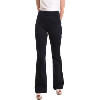 Oblačila Ženske Lahkotne hlače & Harem hlače Fracomina FR19SM617 Modra