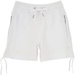 Oblačila Ženske Kratke hlače & Bermuda Ea7 Emporio Armani 3GTS52 TJ31Z Biely