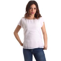Oblačila Ženske Topi & Bluze NeroGiardini P962470D Biely