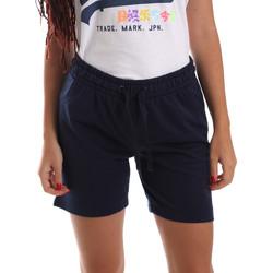 Oblačila Ženske Kratke hlače & Bermuda Key Up 5F59G 0001 Modra