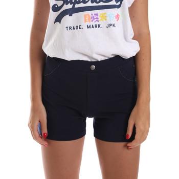 Oblačila Ženske Kratke hlače & Bermuda Key Up 5L79G 0001 Modra