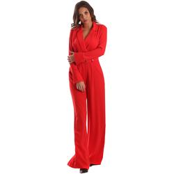 Oblačila Ženske Kombinezoni Byblos Blu 2WD0010 TE0012 Rdeča
