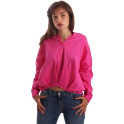Oblačila Ženske Srajce & Bluze Byblos Blu 2WR0004 TE0014 Roza