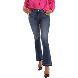 Oblačila Ženske Kavbojke bootcut Byblos Blu 2WJ0012 TE0126 Modra