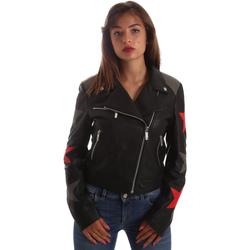 Oblačila Ženske Usnjene jakne & Sintetične jakne Byblos Blu 2WS0002 LE0007 Črna