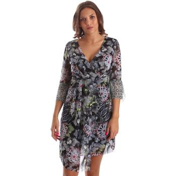 Oblačila Ženske Kratke obleke Smash S1984413 Črna